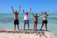<h2>PUERTO RICO</h2><p>SPANSIH VIRGINS THEY ARE CALLED. RUINS, SAND, CLEAR WATER PROVIDE LOADS OF FUN. KEV, ME, SHELLEY & ALETIA</p>