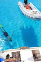 <h2>TURKS & CAICOS</h2><p>PLANA CAYS IS THE FIRST LANDFALL ON THE WAY FROM THE BVI. GORGEOUS CLEAR WATER AND SANDY ALL THE WAY TO THE ANCHOR</p>